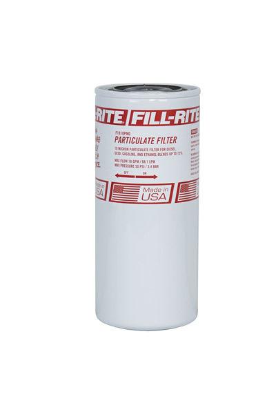 """Imagen de FILL-RITE F1810PM1 3/4 """"18 GPM (68 LPM) FILTRO DE COMBUSTIBLE GIRATORIO PARTICULADO CON DRENAJE"""