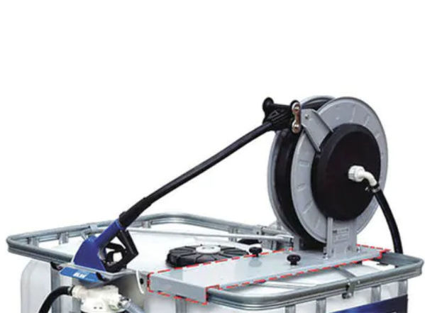Picture of PIUSI F17275000 HOSE REEL TOTE BASE MOUNT