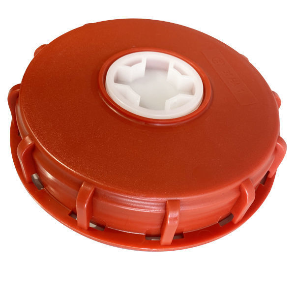 """Picture of IBC CAP 6"""" WITH CENTER HOLE"""