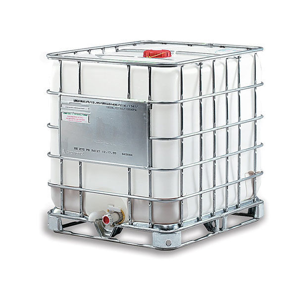Picture of 275 GALLONS IBC TOTE WITH METAL PALLET & CAGE