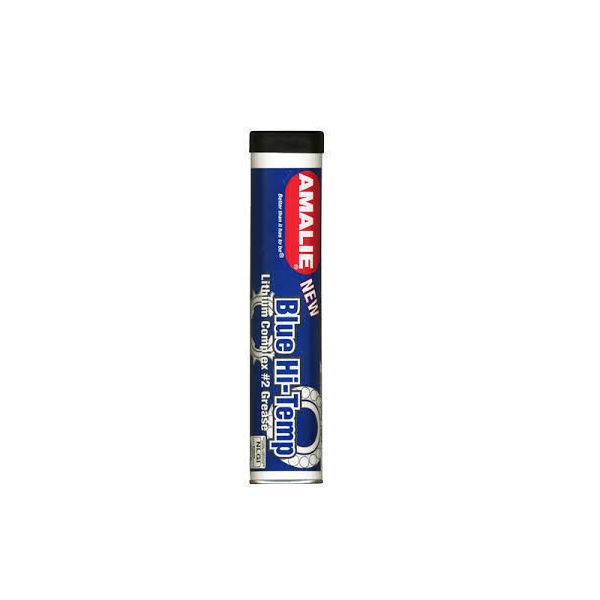 Picture of AMALIE BLUE GRADE-2 HIGH TEMPERATURE GREASE - 14 OZ.  (10/1 CARTRIDGE)