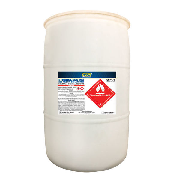 Picture of TOOLZ ETHANOL SDA 40B 200 PROOF DENATURED-55 GALLONS (DR)