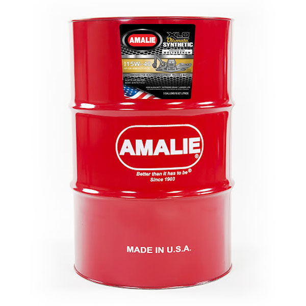 Picture of AMALIE XLO ULTIMATE SYNTHETIC BLEND 15W40 API CK-4/SN (DR)